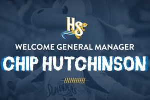 CHIP HUTCHINSON NAMED NEW GENERAL MANAGER