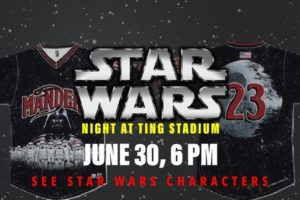 Special Edition Stars Wars Jersey Silent Auction for Special Olympics NC