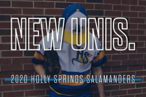SALAMANDERS UNVEIL NEW JERSEYS FOR 2020 SEASON