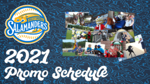 2021 Promotional Schedule Announced!